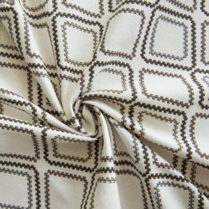 Декоративная ткань Сеймур-180 см-Коричневый