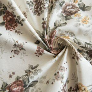 Декоративная ткань  Дриада  180 см Коричневый