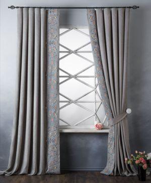 Комплект штор Лея 2х200х280 см Серый