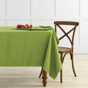 Комплект скатертей Ибица D145 см Зеленый