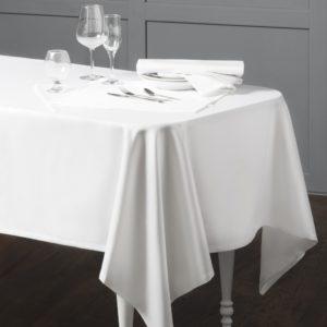 Комплект тефлоновых скатертей Марио 145х145 см Белый