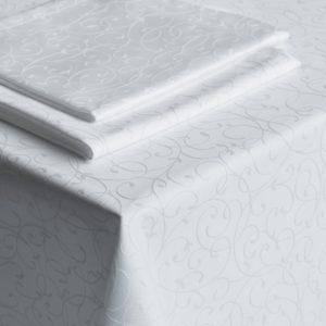 Комплект скатертей Густав 2 145х145 см Белый