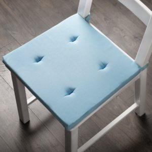 Комплект подушек для стула Билли 37х42 см Голубой