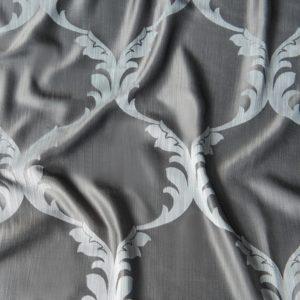 Декоративная ткань  Лувр  300 см Серый