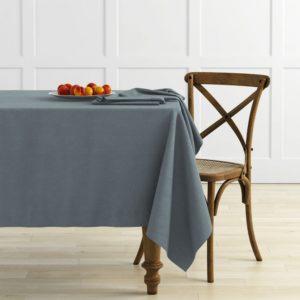 Комплект скатертей Ибица D145 см Серый