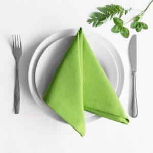 Комплект салфеток  Билли  38х38 см Зеленый