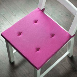 Комплект подушек для стула Билли 37х42 см Фуксия
