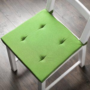 Комплект подушек для стула Билли 37х42 см Зеленый