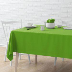 Скатерть  Билли 145х170 см Зеленый