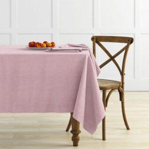 Комплект скатертей Ибица D145 см Розовый