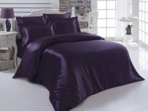 Постельное белье Arin шелк евро Фиолетовый