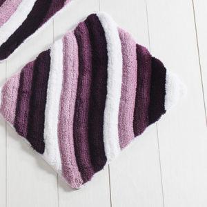 Коврик Castafiore Akril Colorful фиолетовый 50*60 см