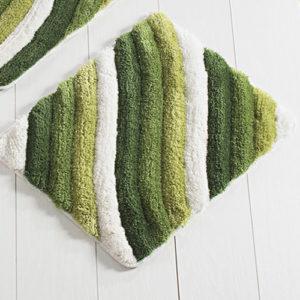 Коврик Castafiore Akril Colorful зеленый 50*60 см