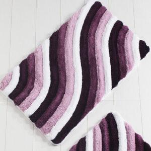 Коврик Castafiore Akril Colorful фиолетовый 60*100 см