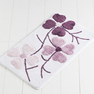 Коврик Castafiore Akril Flowers светло-фиолетовый 60*100 см