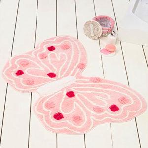 Коврик Castafiore Akril Pro forma Butterfly  60*100 розовый