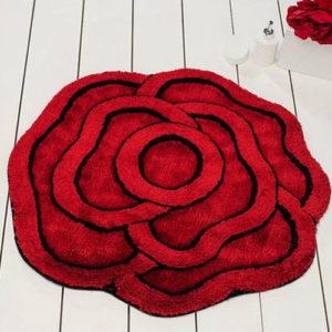 Коврик Castafiore Akril Pro forma Rose красный 90 диаметр