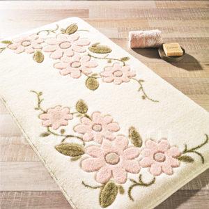 Набор ковриков для ванной комнаты Confetti Bella Margherita белый