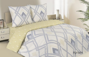 Комплект постельного белья поплин Ecotex  Аргайл