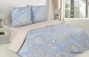 Комплект постельного белья поплин Биарриц