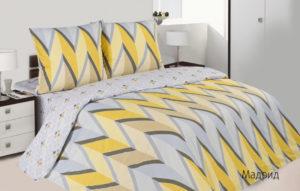 Комплект постельного белья поплин Ecotex  Мадрид