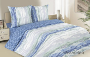 Комплект постельного белья поплин Ecotex  Морской Бриз