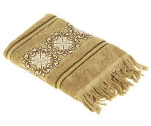 Махровое полотенце Норрис капучино