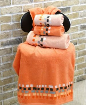 Махровое полотенце Милан персик