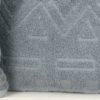 Набор махровых полотенец Геометрия Серый
