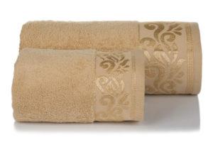 Махровое полотенце Люси бежевый