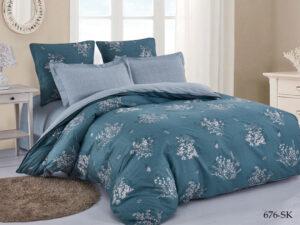 Комплект постельного белья сатин набивной Cleo Satin de' Luxe дуэт 41/676-SK