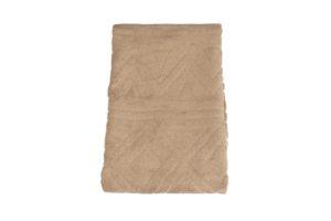Махровое полотенце Геометрия бежевый