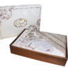 КПБ Cleo сатин набивной Satin de' Luxe декор 1,5-сп. 15/464-SK