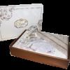 КПБ Cleo сатин набивной Satin de' Luxe декор евро  31/458-SK