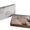 Комплект белья Лён/хлопок  Cleo Soft Cotton 2-сп  21/004-SC