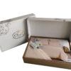 Комплект белья Лён/хлопок  Cleo  Soft Cotton дуэт  41/003-SC
