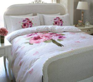 Комплект постельного белья Ozdilek Soft Life Saten Amelya евро сатин