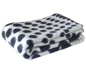 Одеяло шерстяное Горох