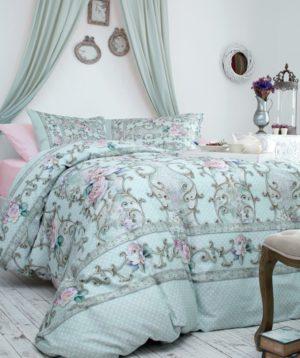 Комплект постельного белья Ozdilek Soft Life Saten Vital евро сатин