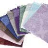 Полотенце махровое KARNA жаккард с бахромой OTTOMAN 50x90 Фиолетовый