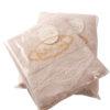Полотенце махровое KARNA с бахромой DIVA 70x140 Абрикосовый