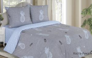 Комплект постельного белья поплин Коста-Рика