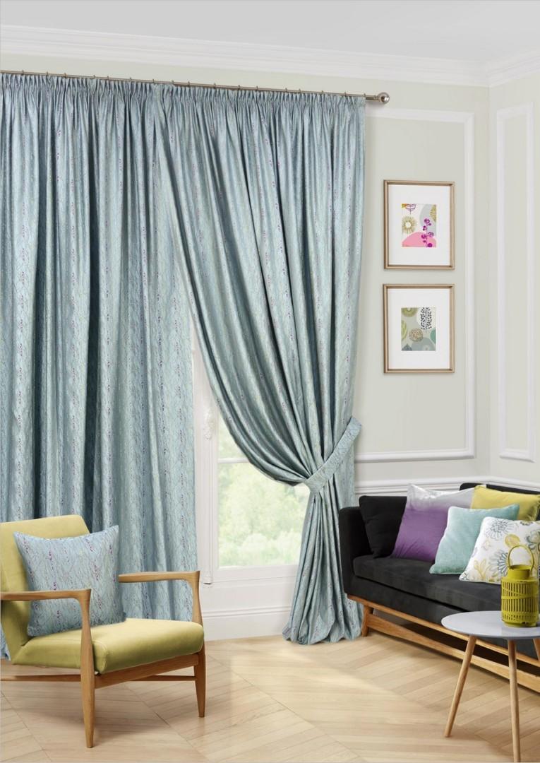 наша серые шторы для гостиной фото грушей
