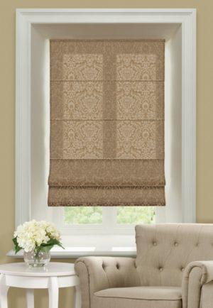 Римские шторы Эмоджи коричневый