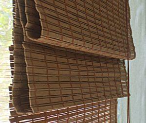 Бамбуковые Римские шторы Какао