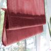 Римские шторы Ткань однотонные Красный