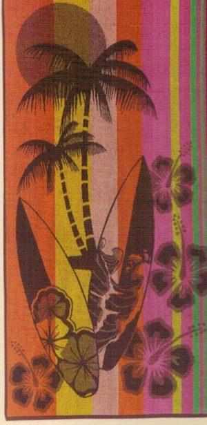 Пляжное полотенце Ozdilek Sun Surf 70x150 см