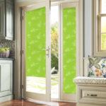 Балконная дверь ЭДЕЛЬВЕЙС зеленый