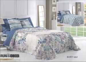 Покрывало + 2 наволочки (подушки) на кровать Antilo Barey Azul