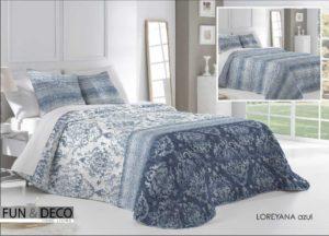 Покрывало + 2 наволочки (подушки) на кровать Antilo Loreyana Azul